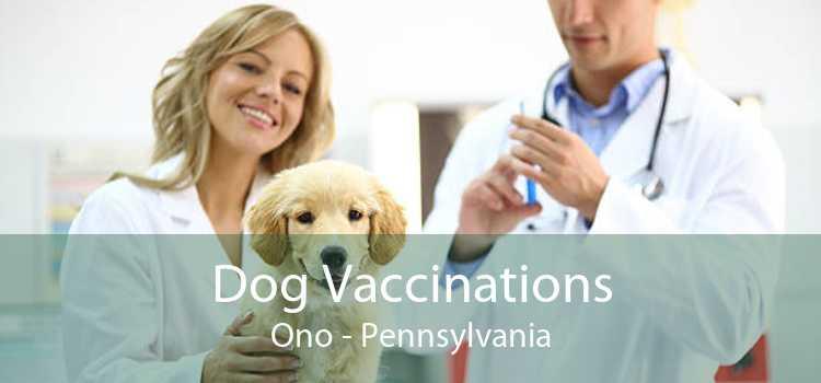 Dog Vaccinations Ono - Pennsylvania