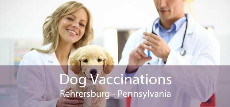 Dog Vaccinations Rehrersburg - Pennsylvania