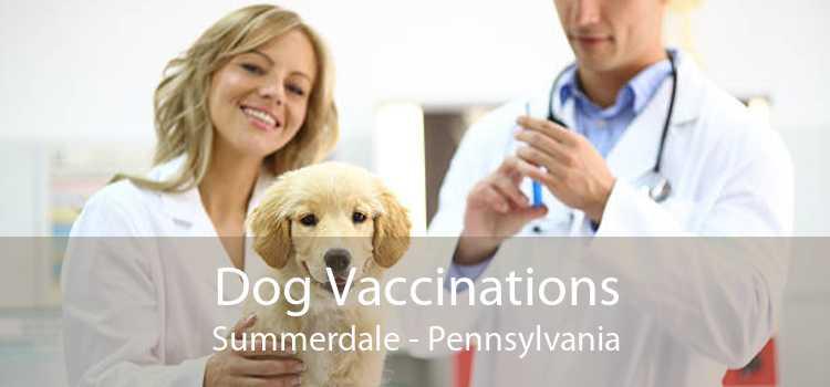 Dog Vaccinations Summerdale - Pennsylvania