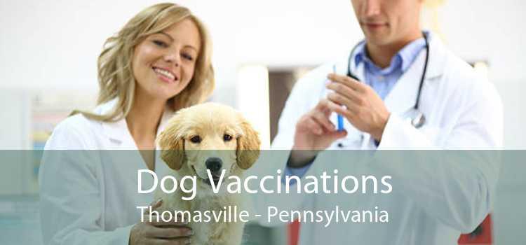 Dog Vaccinations Thomasville - Pennsylvania