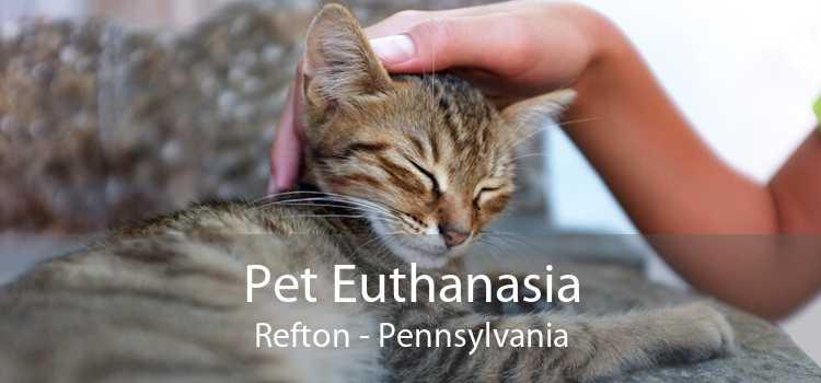 Pet Euthanasia Refton - Pennsylvania